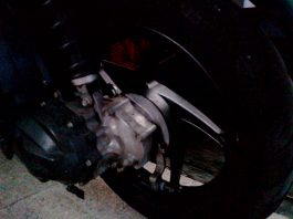 Rem Belakang Skuter Matik Honda Berdecit