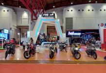 Promo TVS Dazz di Jakarta Fair Kemayoran 2018