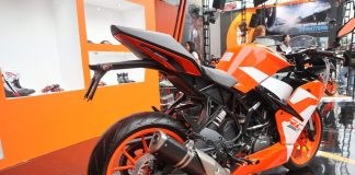 KTM RC 250 SE