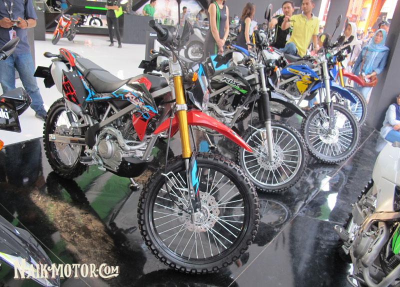 Eh Ada Warna Baru Kawasaki Klx 150bf Se Extreme Di Jakarta Fair