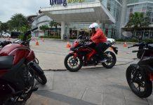 Wahana Menggelar Honda Sport Motoshow di Serpong