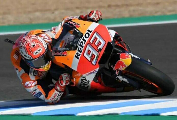 Marquez Podium di MotoGP 2018 Jerez