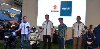 Suzuki Nex II di PRJ 2018