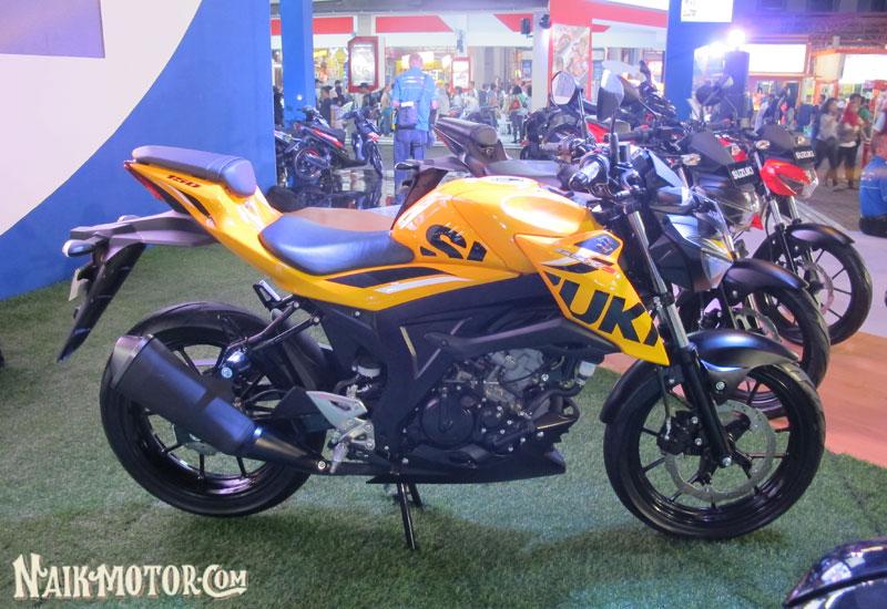 Suzuki Gsx S150 Warna Kuning Bumblebee Versi Roda Dua