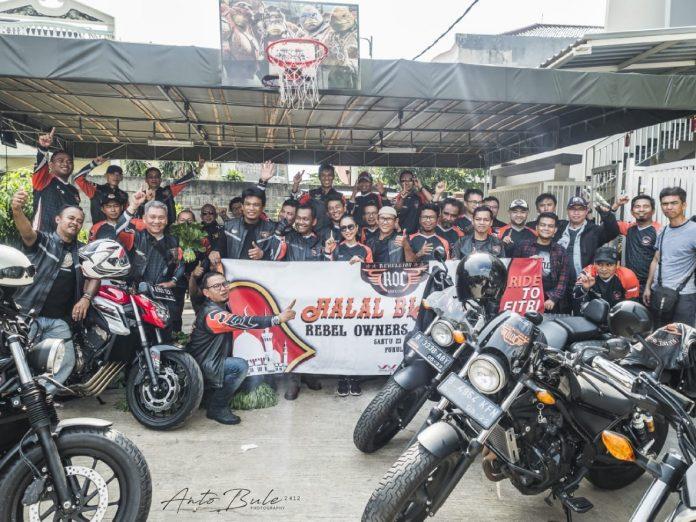 Rebel Owners Community Menggelar Ride