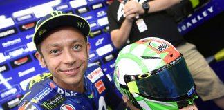 Helm Baru Rossi di MotoGP Mugello 2018