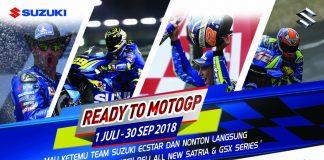 Suzuki Mengajak Nonton MotoGP 2018 Sepang