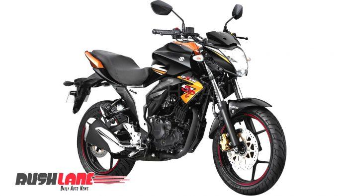 Suzuki Gixxer SP Gold