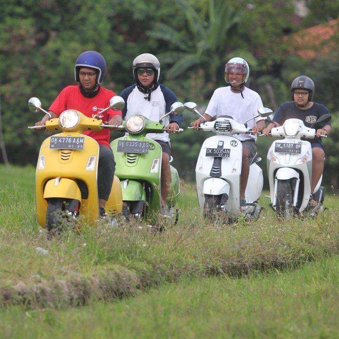Piaggio Vespa Escape Tour Diajak ke Bali