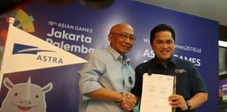 Official Prestige Partner Asian Games 2018