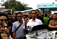 Mampir di Booth Diton Premium Jokowi