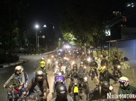 1200 Motor Ramaikan Lebar-Run 2018 Street Demon Indonesia