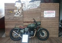 Royal Enfield Classic 500 Custom Milik Gibran Tampil di The 2nd Indonesia Autovaganza