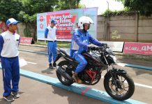 Wahana Persiapkan Instruktur Safety Riding