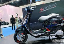 Vespa Sprint Carbon Edition