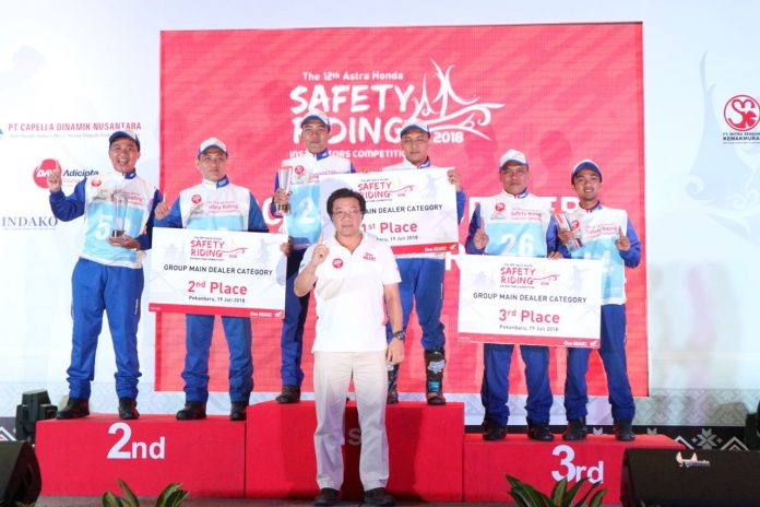 Wahana Juarai Astra Honda Safety Riding Instructor