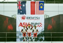 Race 1 Asia Talent Cup 2018
