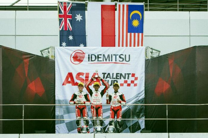 Race 1 Asia Talent Cup 2018