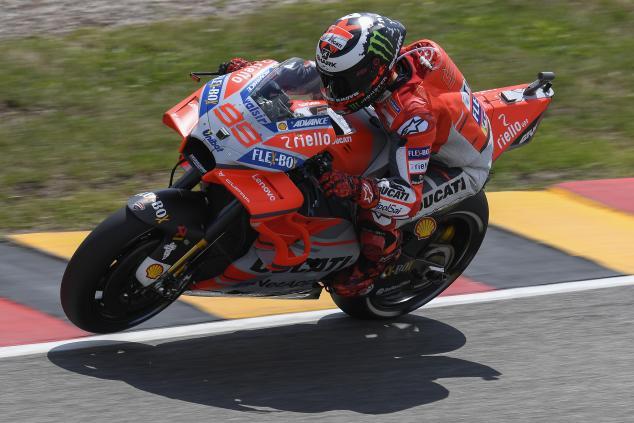 Hari Pertama FP MotoGP 2018 Sachsenring