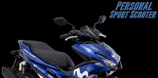 Yamaha Aerox 155 Livery Movistar