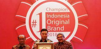 Aspira Kembali Meraih Indonesia Original Brand Award 2018