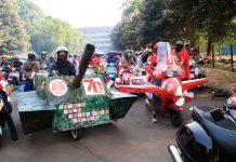 Sambut Hari Kemerdekaan Kutu Community Gelar Lomba Vespa Hias di Bali