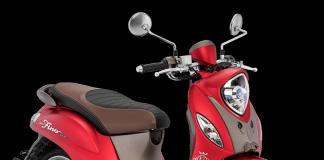 Yamaha Fino Grande Luxury Red