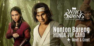 Diajak Nonton Bareng Film Wiro Sableng