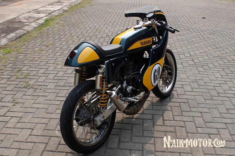 Modifikasi Yamaha Rx King Cafe Racer Buat Ikutan Fun Race
