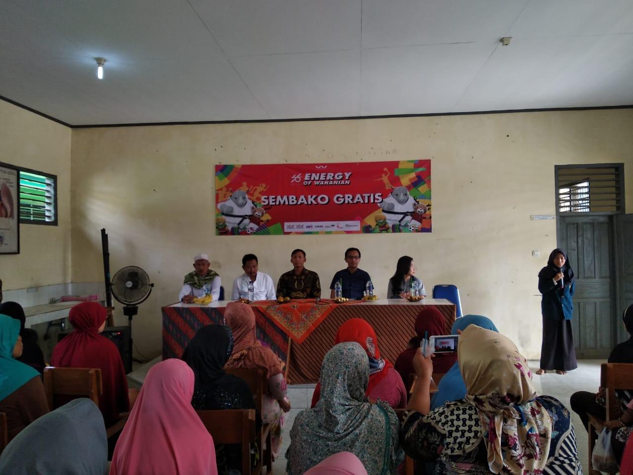 Wahana menyalurkan Rp 500 juta untuk korban bencana gempa Lombok