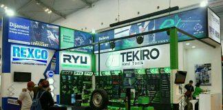 Rexco dan Tekiro Berikan Pemahaman Produk di GIIAS 2018