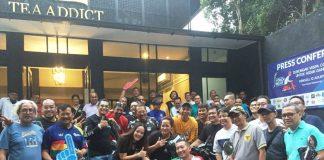 Komunitas Vespa Siap Kawal Api Obor Asian Games 2018