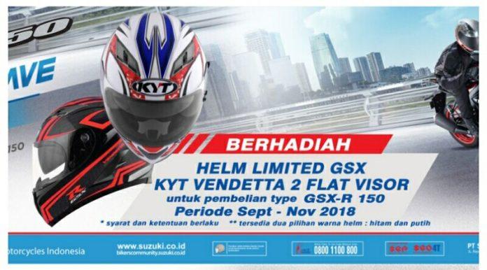 Hadiah Pembelian Suzuki GSX-R150