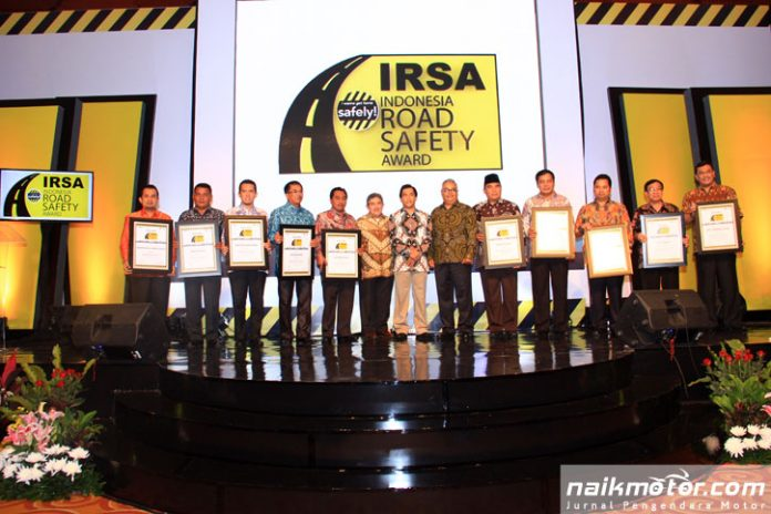 Finalis Kota dan Kabupaten dengan Pengelolaan Keselamatan Jalan Terbaik 2018