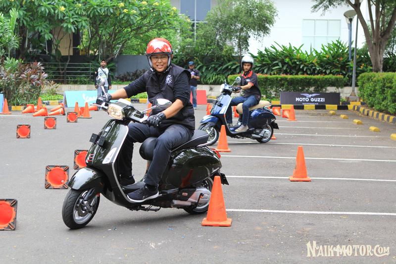 Test Ride Vespa Competition