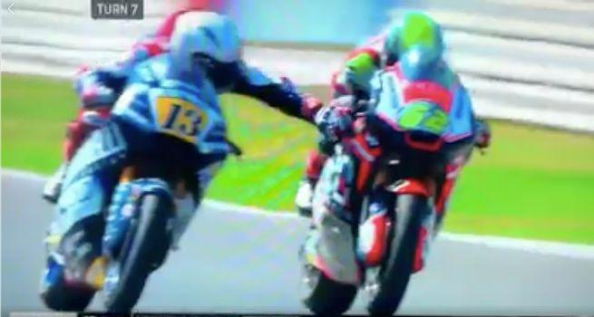 Didiskualifikasi di Moto2 2018 Misano