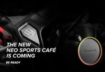 Teaser Honda CB650R Neo Sports Cafe