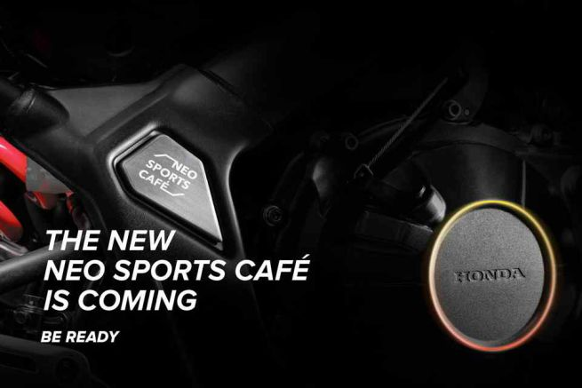 Teaser Honda CB650R Neo Sports Cafe