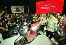 Honda Menggelar 37 Model di IMoS 2018