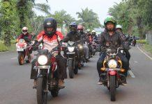Komunitas Honda Verza Jakarta Touring
