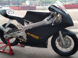 Prototipe Motor Balap Super Poket Indonesia