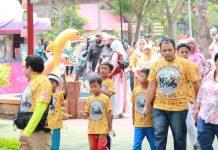 MBI Mengasuh Anak Yatim Seharian di Ancol