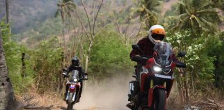 Motorbaik Adventure 2018