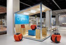 Piaggio Mengembangkan Gita untuk Pekerjaan Indoor
