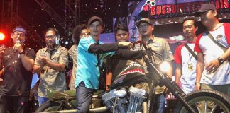 Motor Lucky Draw Kustomfest 2018 Belo Negoro