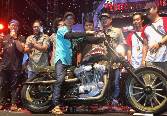 Motor Lucky Draw Kustomfest 2018 Belo Negoro