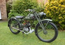 Royal Enfield RE/WD 125 'Flying Flea'