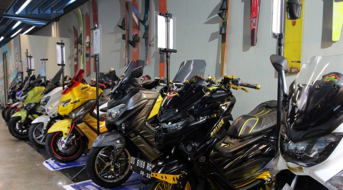 kontes modifikasi CustoMAXI Yamaha 2018