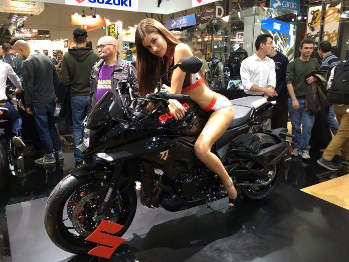Suzuki Katana Diperkenalkan Kembali di EICMA 2018