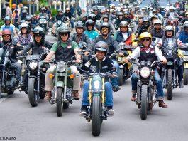 Bikers Brotherhood 1% MC Kawal Jokowi